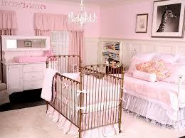 baby nursery luxury ba room decor pink cotton 2 panel