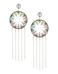 dannijo earrings dannijo earrings silver 50192580ml dannijo zahra earrings