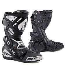 black motorbike boots ice pro flow u2013 forma boots australia