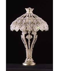 Small Table Lamp With Crystals Photos Schonbek 7892 Rivendell 28 Inch Table Lamp Antique