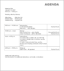 templates for business agenda business agenda format roberto mattni co