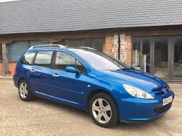 2 seater peugeot cars peugeot 307 sw se estate hdi turbo diesel family car 7 seater in