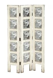 Privacy Screen Room Divider Room Dividers Frame Room Divider Shabby White Wash Distressed