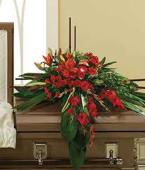 casket spray in his honor casket spray at from you flowers
