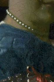 vermeer pearl necklace details of vermeer s painting technique