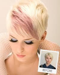 highlights in very short hair short hair pink highlights short hairstyles 2016 2017 most