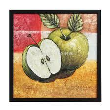 modern kitchen wall art modern wall art home decoration frameless oil painting on canvas