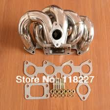 audi 1 8 l turbo aliexpress com buy t3 stainless steel exhaust turbo manifold for