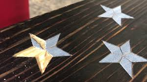 47 Star Flag Carving A Star In Wood Youtube