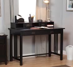 Laptop Writing Desk Simple Antique Writing Desks Rectangle Shape Solid Wood