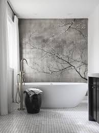 wallpaper designs for bathroom the 25 best bathroom feature wall ideas on