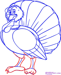 draw a turkey step by step drawing sheets added by