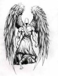 17 best war angel tattoo stencil images on pinterest tattoo