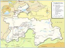 Turkestan Map Maps Of Tajikistan Bizbilla Com