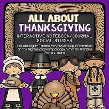 all about thanksgiving interactive notebook thanksgiving wanoag