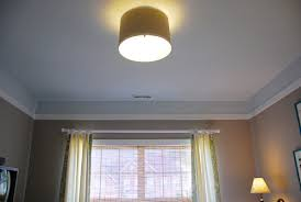 Diy Ceiling Lamps Drum Shade Ceiling Light Roselawnlutheran