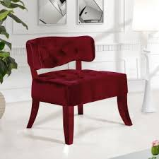Velvet Accent Chair Velvet Accent Chairs Hayneedle