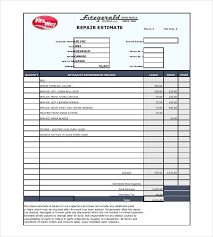 estimate templates for word invoice template word download free for nest store elegant car