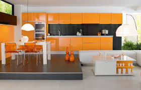 interior kitchen colors exclusive design top interior orange kitchen colors decosee com