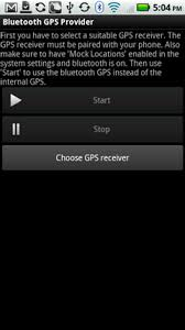 bluetooth settings android android external bluetooth gps apps bluetooth gps provider