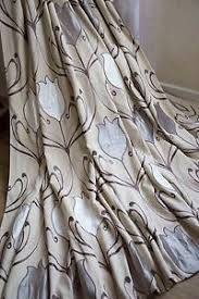 Dunelm Curtains Eyelet Lalique Curtains 66x72 Dunelm Beige White Grey Lined Shimmer