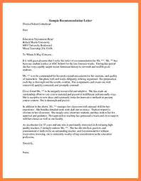 4 letter of recommendation template graduate appeal