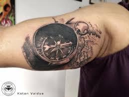 Map Tattoo Best Tattoo Artist In Mumbai Best Tattoo Artist In Mulund Tat2me