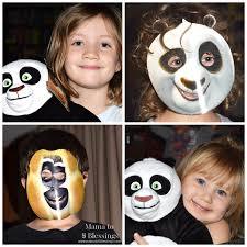 Kung Fu Panda Halloween Costumes Kung Fu Panda Party Featuring Po Panda Cake