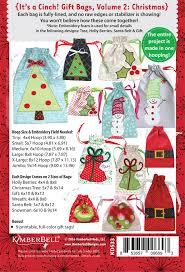 gift bags christmas it s a cinch gift bags volume 2 christmas kimberbell designs