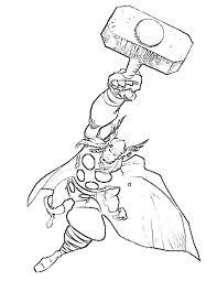 Thor Coloriages Coloriage Thor Et Loki  defenceforme