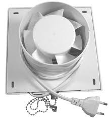 Kitchen Ceiling Exhaust Fan Extractor Exhaust Fan Window Wall - Bathroom fan window