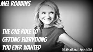one rule mel robbins