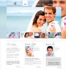 free wedding websites 26 free wedding website templates themes free premium templates