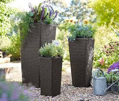 Flower Planter Ideas by Patio And Balcony Planter Ideas