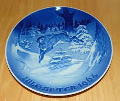 collector plate grondahl annual plates