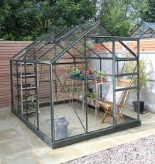 Greenhouse 6x8 Simplicity Classic In Old Cottage Green 6x8 Greenhouse
