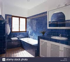 interiors bathroom bath tiling stock photos u0026 interiors bathroom