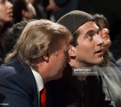 donald trump left and john f kennedy jr take in the acti