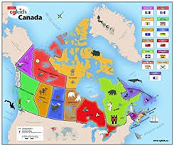 map if canada canadian geographic map of canada jigsaw puzzles canada