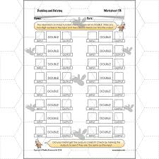 doubling and halving function machines planbee single lesson