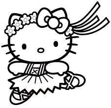 coloriage hello kitty à colorier dessin à imprimer taylor