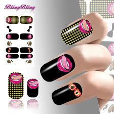 aliexpress com buy 2pcs nails art water transfers nail stickers