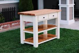 kitchensland butcher blocknside artistic ana white diy projects