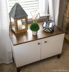 Media Cabinet West Elm Diy Media Cabinet With Free Plans Infarrantly Creative