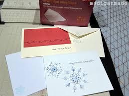 need a handmade christmas card idea