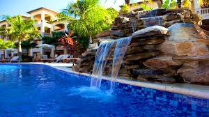 Backyard City Pools by Kitchen Exciting Swimming Pool Waterfalls Great Kit Construction