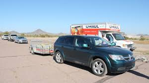 how to properly tow a u haul trailer