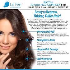 Vitamin Deficiency And Hair Loss Amazon Com Biotin Vegan Veggie Capsule Supplement High Potency