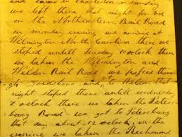 private voices corpus of american civil war letters