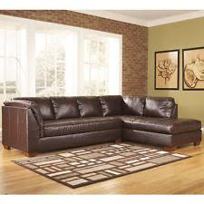 ashley leather sectional sofas loveseats u0026 chaises ebay